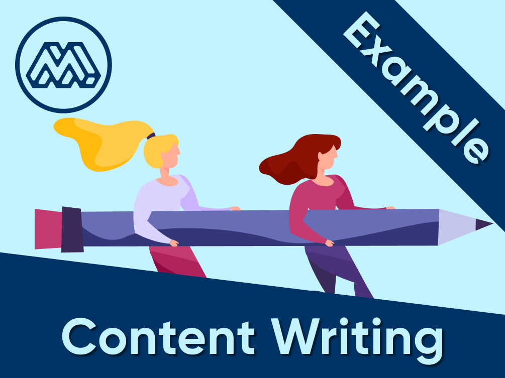 content writing example