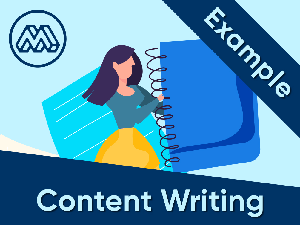 content writing example 2