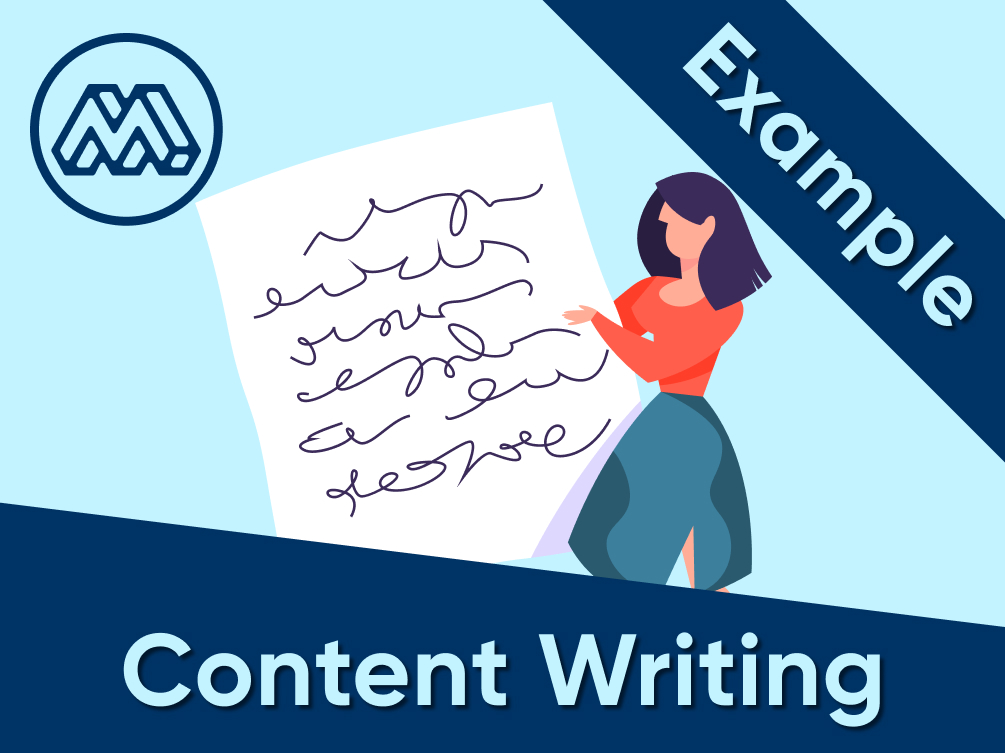 content writing example 3
